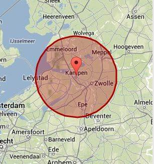 werkgebied Kampen