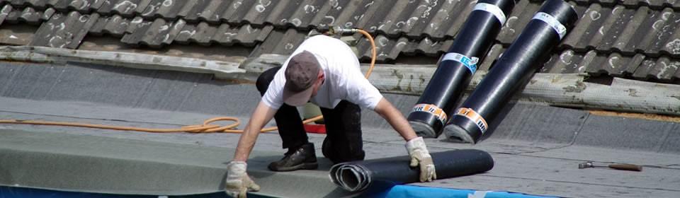 Bitumen dakbedekking Kampen